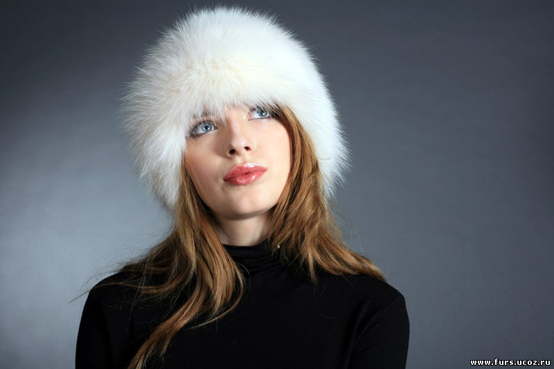 Описание: Меховые шапки (папахи) зима, выкройка.